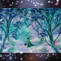 Magic Forest by Kentrkatty1