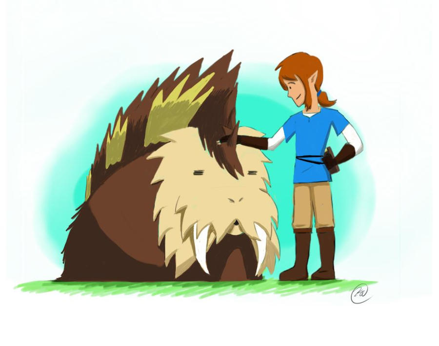This Guinea Pig-Walrus thing from BOTW by Mujambe
