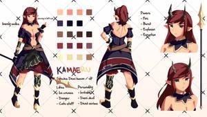 Kamaeru OC Sheet by PMglory