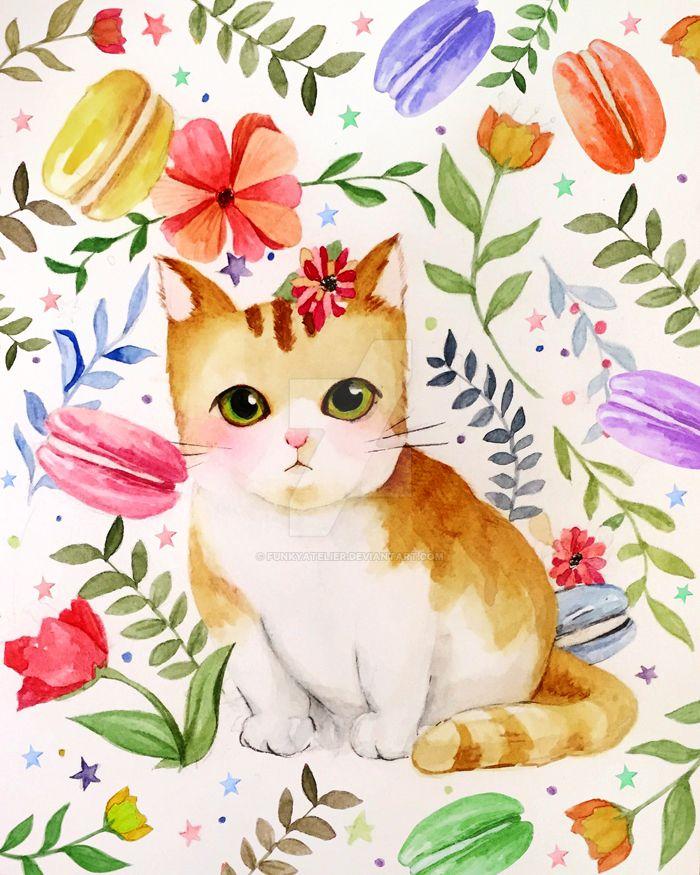 Cat Edited by funkyatelier