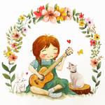 Singing sweet songs