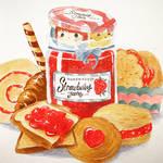 Sneaky Strawberry Jam
