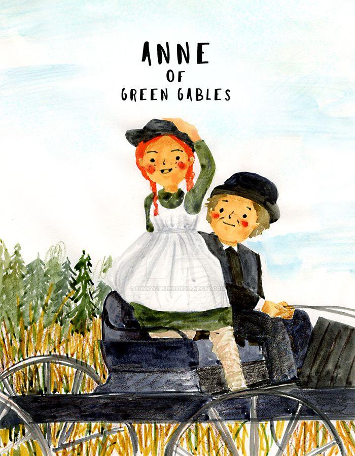 Anne of Green Gables by funkyatelier
