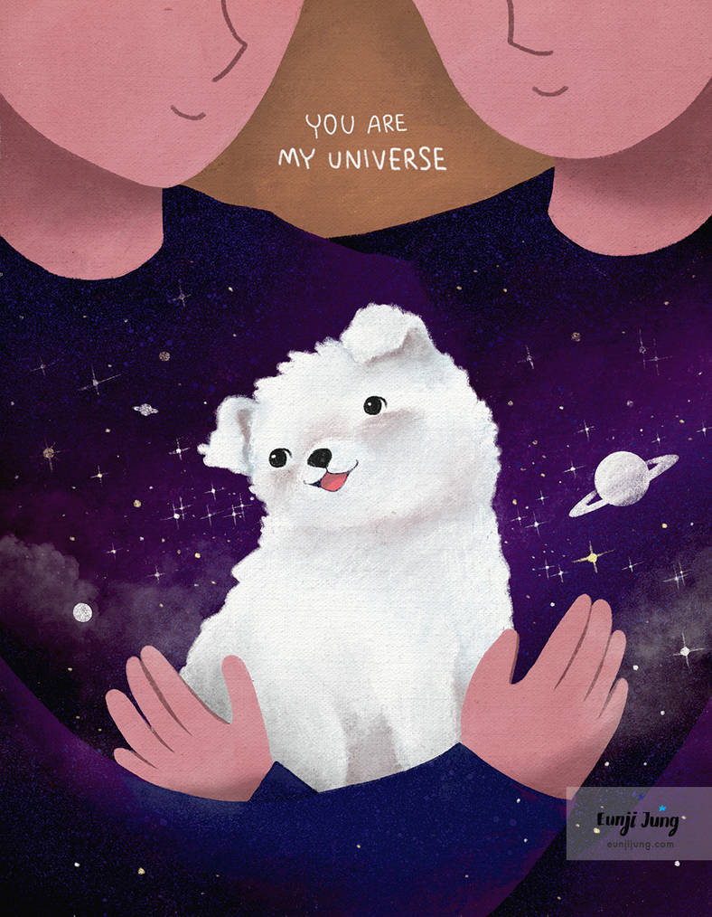 You are my universe by funkyatelier