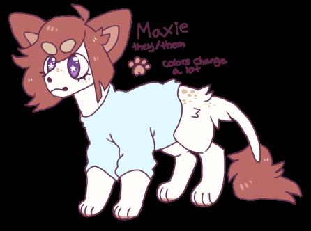 Maxie ref by Magikitty