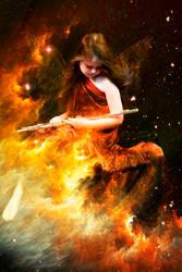Fire Angel by IneffectiveBreathing