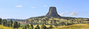 Devil Tower Pano