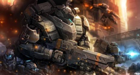 Future Warfare by bailknight
