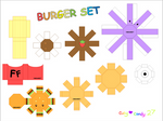 Burger Meal Papercraft