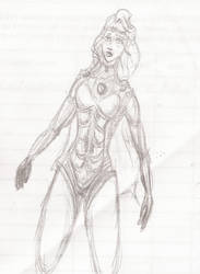 Female Hero by Danny-Santiago