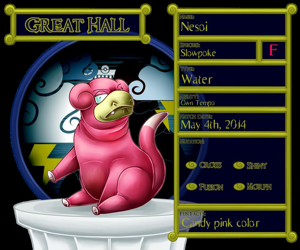 Great Hall: Nesoi : PKMNation by TheGrumpyTurtle