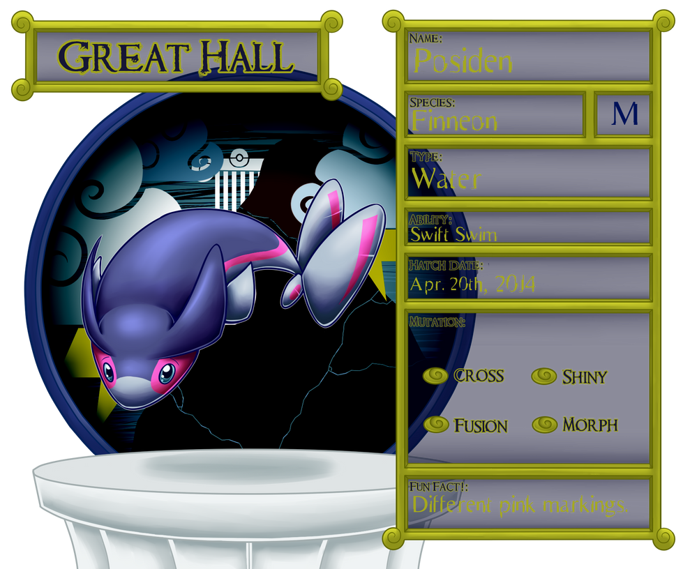 Great Hall : Posiden : PKMNation by TheGrumpyTurtle