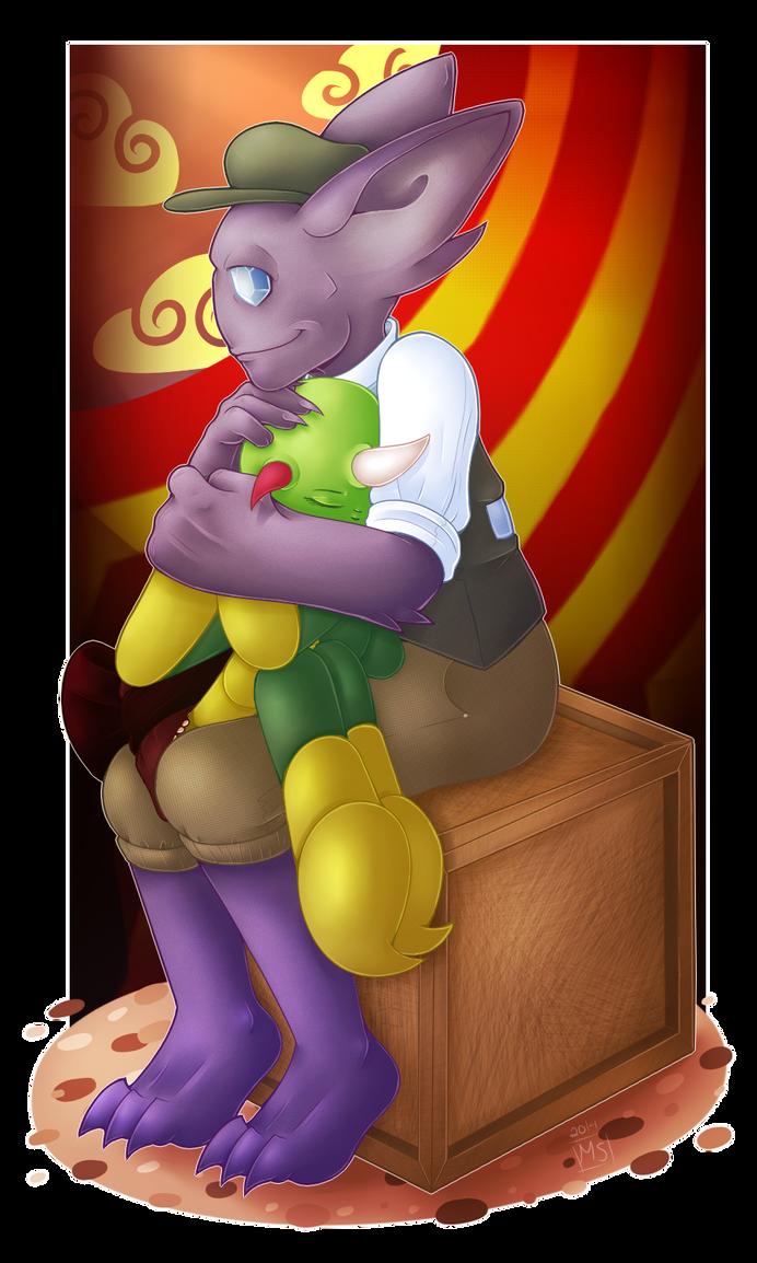 Quiet Time : Circus Darkrai by TheGrumpyTurtle