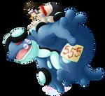 Water Race : 555