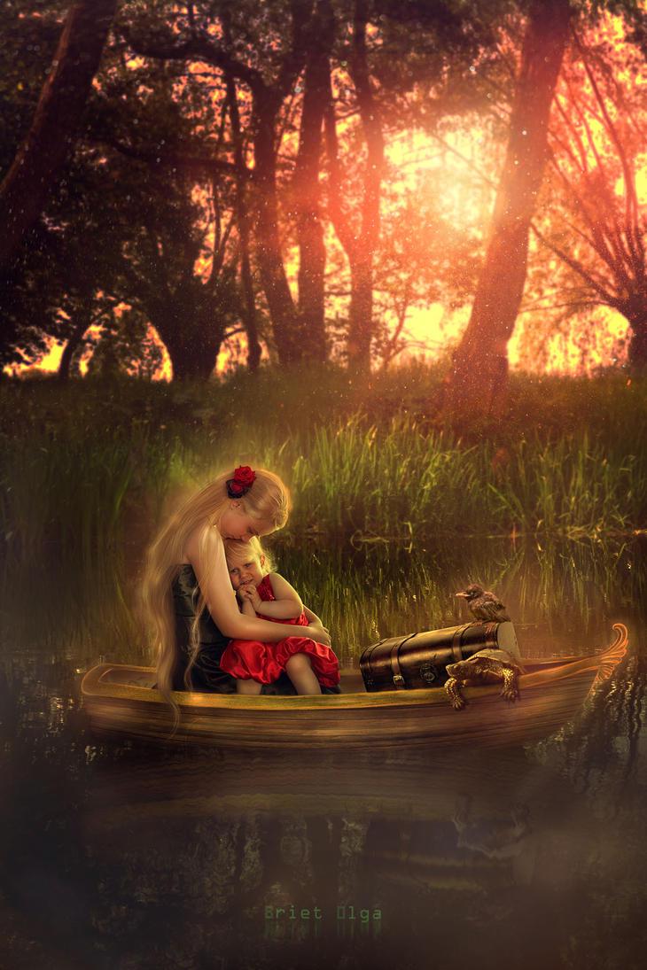 Leaving for a Wonderland by brietolga