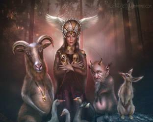 Ragnhilda the night witch - 2nd DAILY DEVIATION! by BrietOlga