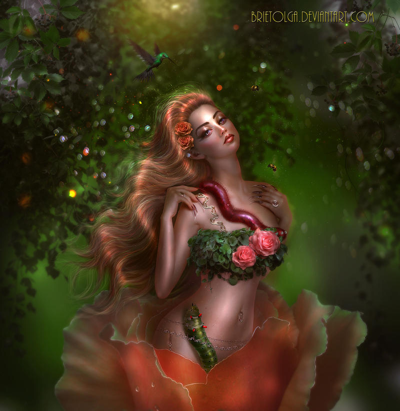 Floriana delicate rose - THIRD DAILY DEVIATION! by BrietOlga