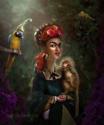 Frida by BrietOlga