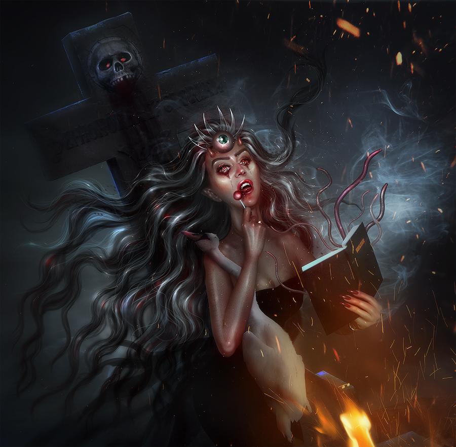 Devilina - NEW WORK! by BrietOlga