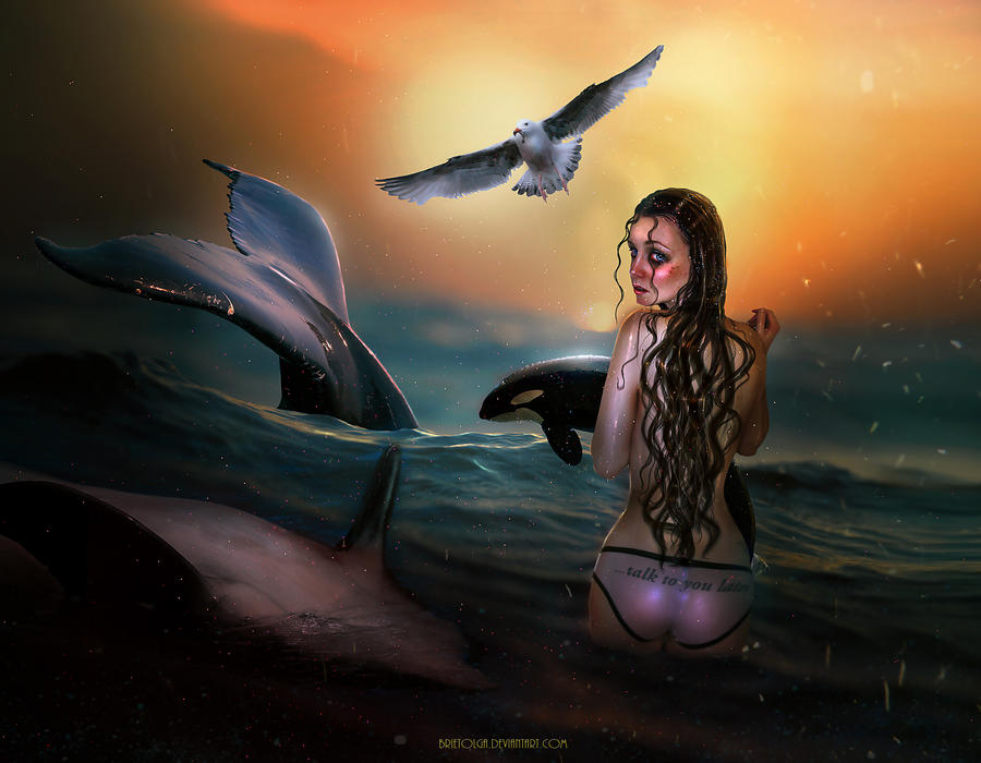 Birna The Whale Rescuer by BrietOlga