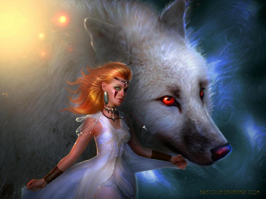 Princess Mononoke by BrietOlga
