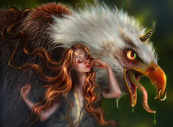 Dafy And Her Sweet Pet - 6TH DAILY DEVIATION! by BrietOlga