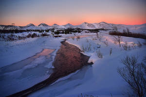 Icelandic Landscape by BrietOlga