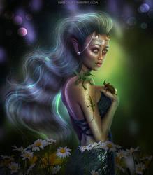 Alexandra The Elf - REMAKE - NEW WORK! by BrietOlga