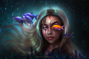 Under The Sea - NEW WORK! by BrietOlga
