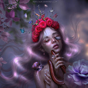 Violica The Lilac Garden's Fairy - NEW WORK!