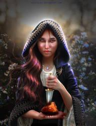 Algherda's Witchcraft - NEW WORK! by BrietOlga