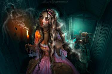 The Mystical House - MY 8TH DAILY DEVIATION! by BrietOlga