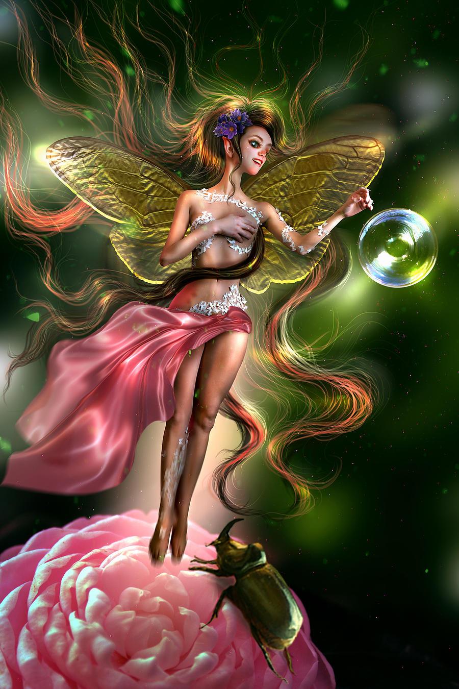 Nessinia the Fairy - NEW WORK!