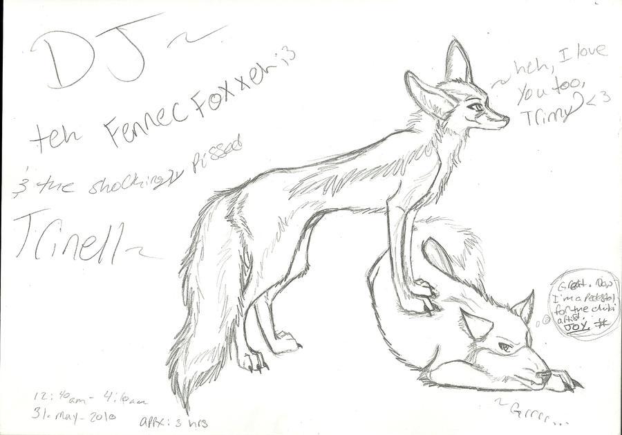 Dj The Fennec Fox By Kiavanielkawolf On Deviantart