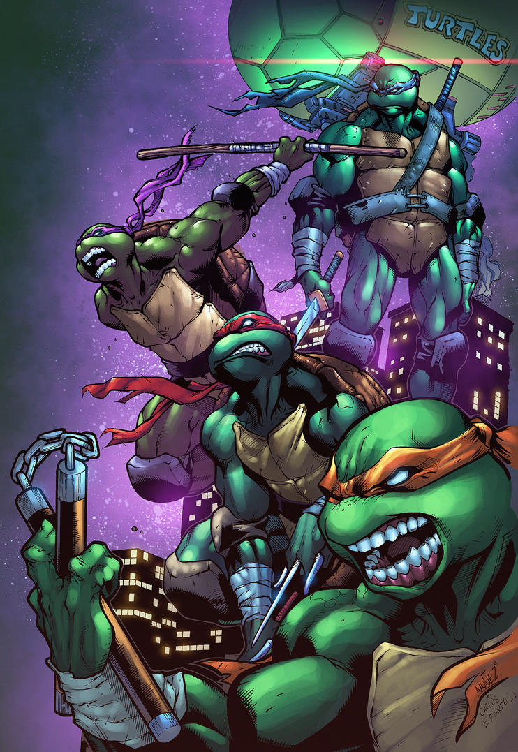 TMNT by NesTHORcolors
