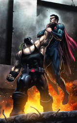 Superman vs Bane