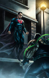 Superman vs Bane P2
