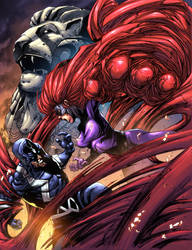 Medusa vs. Blackbolt ft. Merlion