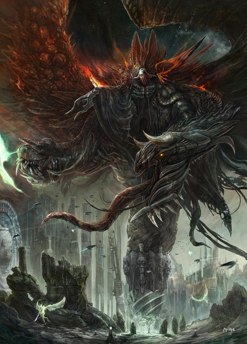 Lord Hatred by ertacaltinoz