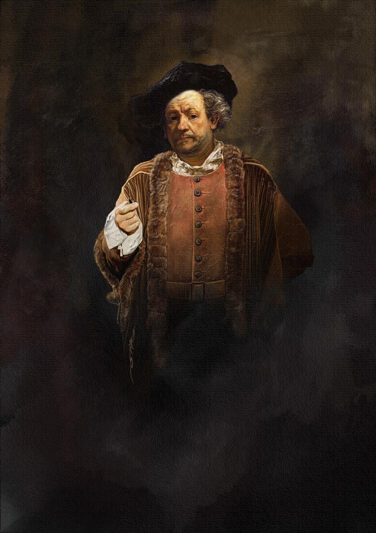 Rembrandt by ertacaltinoz