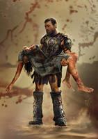 Spartacus by ertacaltinoz
