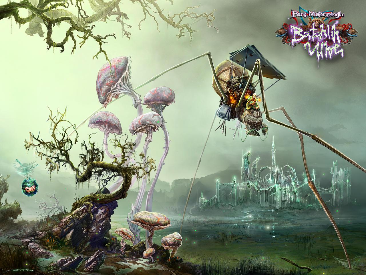 Swamp Land by ertacaltinoz