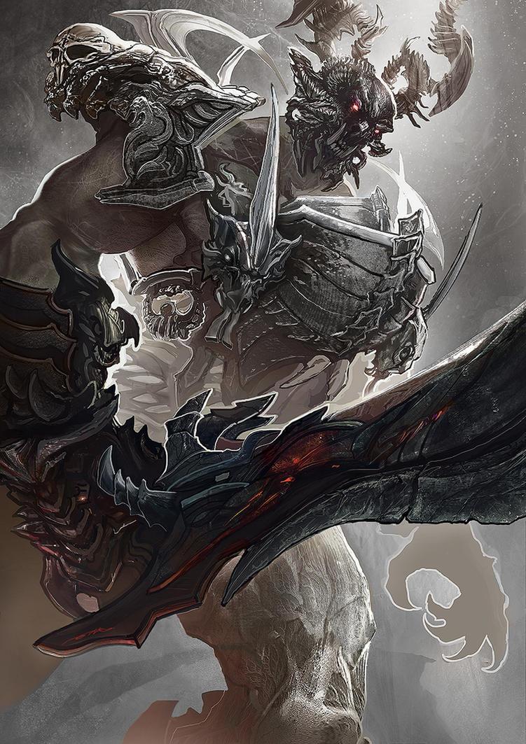 The Hero of Ardentoura - ERLIG KHAN by ertacaltinoz