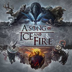 A Song of Ice and Fire by ertacaltinoz