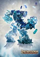Crystal Golem by ertacaltinoz