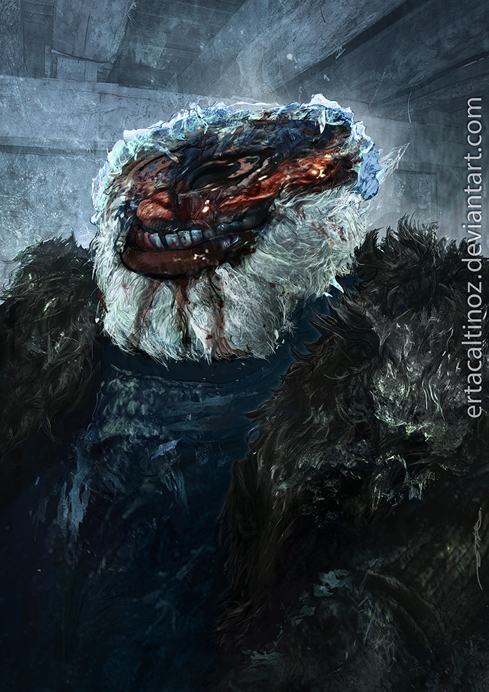 Night King Face Paint