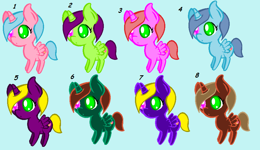 Light Sparkles New Color Chart Voting By Maciethehedgehog On Deviantart