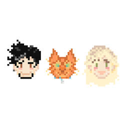 Lil Pixel Family Of Us