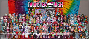 MY MONSTER HIGH DOLL COLLECTION. (12.30.2012)