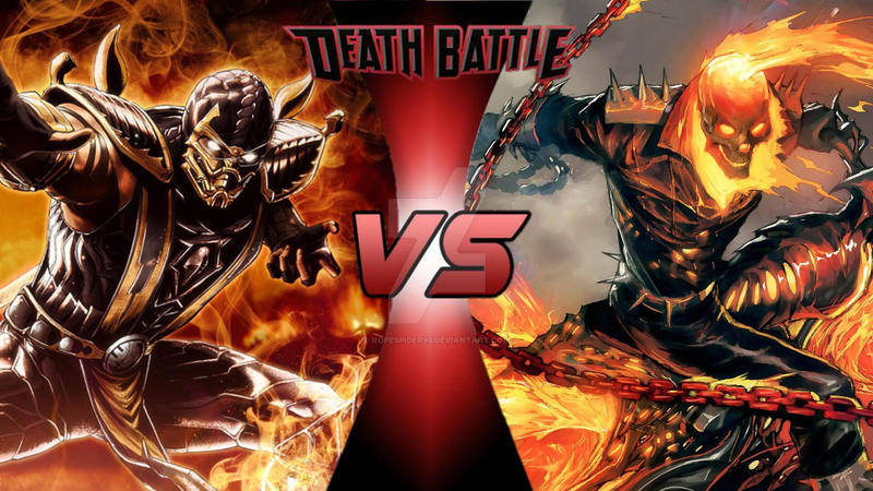 Scorpion vs Ghost Rider (DEATH BATTLE! Idea #53) by ...